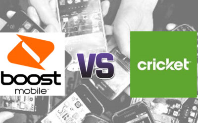 Boost vs. Cricket on Price, Coverage & Data