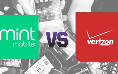 Verizon vs. Mint on Price, Coverage & Data
